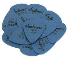 (12) Genuine Jackson® Guitar/Bass Picks Delrin Blue Heavy 1.0mm JCK-100H