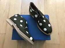 Mark Mcnairy New Amsterdam Sanders Olive White Polka Dot Chukka Boots 10 9 Shoes