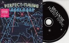 RECLOOSE Perfect Timing 2008 German 10-track promo CD Joe Dukie