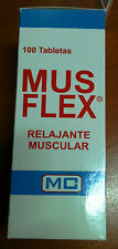 Musflex Simple 350 mg (relaxing)  a box of 100 tablets. Natural vitamins