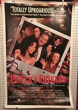 Original Movie Poster Peters Friends Double Sided 27x40