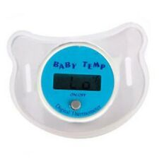 Infants LED Pacifier Thermometer Baby Health Safety Temperature Kid Random Color