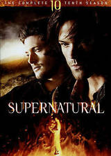 Supernatural: The Complete Tenth Season 10 (DVD) New!- Free Shipping!