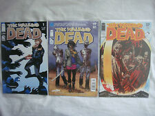 THE WALKING DEAD #1, #19, #27 RARE PERUVIAN VARIANTS SP, KEY-ISSUES, UNOPENED.!