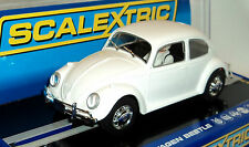 SCALEXTRIC C3362 VOLKSWAGEN BEETLE WHITE UNPAINTED-READY TO CUSTOMIZE  1/32