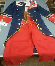 CHILDREN COLONIAL REVOLUTIONARY ERA OUTFIT COSTUME LARGE