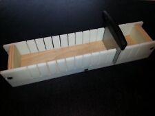 4 Lb Adjustable Soap Mold and Bar Cutter Slicer Cold Process Loaf Wooden Wood
