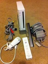 Nintendo Wii White Console (NTSC) Works Great W/ Remote Bundle
