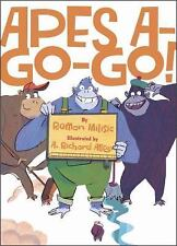 Apes A-Go-Go! by Roman Milisic (2015, Picture Book)