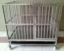 Full Stainless Steel Bars Pet Cage (Free Postage)