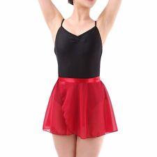 Adult Sheer Wrap Skirt Ballet Belly Chiffon Wrap Skirt Skate Dress Skirt 9 Color
