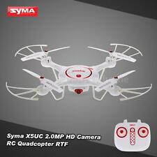 Syma X5UC RC Drone 2.0MPCamera RTF Quadcopter Headless Barometer Set Height S5A9