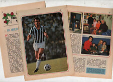 T5 Clipping-Ritaglio del 1978 Roberto Bettega Juventus