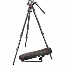 Manfrotto MVH502A Fluid Head and 535 Tripod System with Carrying Bag