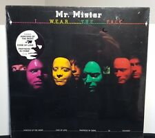 "Mr. Mister ""I Wear The Face"" vinyl LP still SEALED"