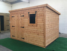 Garden shed 10 x 8 13mm cladding pent *FREE INSTALLATION* *SUMMER SALE 10% OFF*