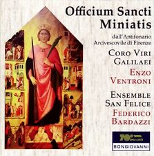 Officium Sancti Miniatis / Enzo VENTRONI / (1 CD) / NEUF