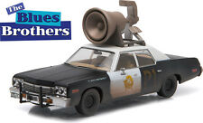 GREENLIGHT 1:43 Hollywood - BLUES BROTHERS - 1974 Dodge Monaco Bluesmobile Horn