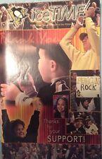 April 2, 2003 Pittsburgh Penguins IceTime Magazine Game Program Mario Lemieux