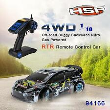 HSP 94177 Nitro Powered Off road Sport Rally Racing 1/10th Scale 4WD RC Car E8L0