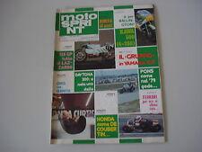 MOTOSPRINT 11/1980 HONDA XL 500 S/YAMAHA 250 e 350 GP