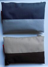 Two Styles New Latest Lufthansa Samsonite Business Class Amenity Bags STYLISH!