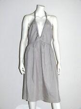 KENZO SOMMERKLEID DRESS NECKHOLDER/HELLGRAU GR:38/40 NEU !!!