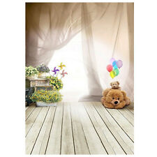 1m x 1.5m Bear Floor Balloon Studio Backdrops Children Photography Background T1