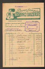 """ISSOIRE (63) EPICERIE """"G. BARRAT-MARREL"""" 1939 / Publicité BOISSON RONIERE Sucrée"""