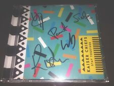 KAISER CHIEFS FULLY SIGNED STAYING TOGETHER CD ALBUM POP ROCK & PROOF