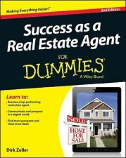 Success As a Real Estate Agent for Dummies by Dirk Zeller (2013, Paperback)