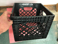 Industrial strength quality heavy duty plastic milk crate NOT in stores! storage