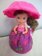 VINTAGE CUPCAKE DOLL TONKA KENNER CUTE PARROT SKIRT HAT