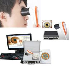 5MP USB Iriscope Iris Analyzer Iridology LED Camera Tester+Lens Mirror Software