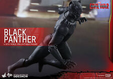 HOT TOYS Captain America Civil War BLACK PANTHER Masterpiece 1/6 Scale Figure