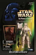 Star Wars 1997 POTF2 Imperial Snowtrooper Hoth Echo Base Empire Strikes Back ESB