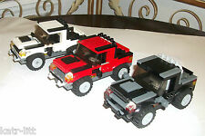 LEGO 1 Black CUSTOM JEEP Based on Set 7347 55981 62361 4 Jurrasic World 75917