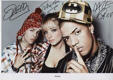 N-DUBZ AUTOGRAPHED SIGNED A4 PP POSTER PHOTO
