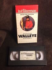 Walleye Systems II Fishing - VHS Video Tape - Lures - Tactics & Strategies -1989
