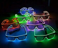 EL Wire LED Rave Party Glasses