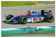 Thierry Boutsen 1993 F1 Jordan original autogr.