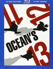 Ocean's 11 - 12 - 13 Box Set (3 Blu-Ray Disc) Cofanetto Sigillato