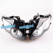 Motorcycle Clear Front Headlight Headlamp Assembly For Honda CBR 1000RR 2008-11