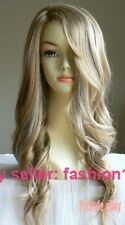 Extra Long Wavy Color#19H613 Lady Salon Wigs Hair Care A10