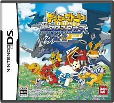 Used Nintendo DS Digimon Story: Super Xros Wars Blue Japan Import Free Shipping