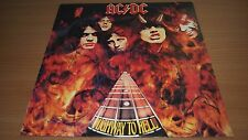 AC/DC Highway to Hell Australian Press LP Vinyl Record Alberts Red Label OOP EX