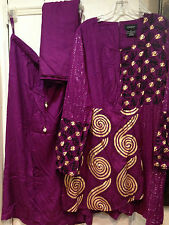 African style Mother of Bride Groom Women's Wedding3PC skirt suit dress plus XL