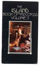 ISLAND BOOK OF RECORDS Vol 3 Record LP catalogue King Crimson Nick Drake Free..+