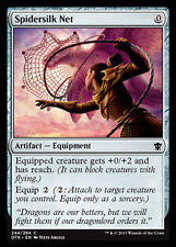 MTG 4x SPIDERSILK NET - RETE DI TELA DI RAGNO - DTK - MAGIC