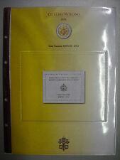 ABAFIL AGGIORNAMENTO PER 2 EURO COMMEMORATIVI VATICANO 2013 SEDE VACANTE
